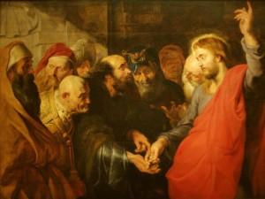 The Tribute Money, Peter Paul Ruben (c. 1612)