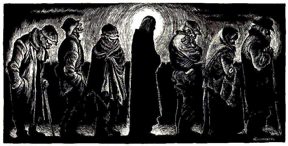 Christ of the Breadlines, Fritz Eichenberg