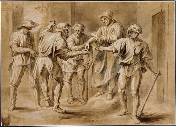 Workers in the Vineyard, Erasmus Quellinius